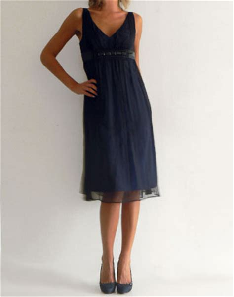 robe bleu marine mariage mi longue location de robe bleu marine pour soir 233 e robe mi longue