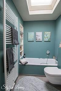 Bad In Türkis : kleines bad in farbe mit wandleuchte lena von click licht ~ Sanjose-hotels-ca.com Haus und Dekorationen