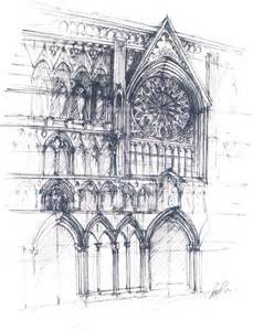 Gothic Architecture Sketches