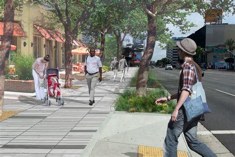 century boulevard    pedestrian friendly makeover