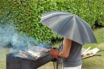 Rain Grilling Barbecue