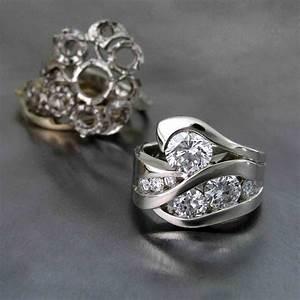 17 best images about dfjd restyles on pinterest brooches for Ideas for redesigning wedding rings