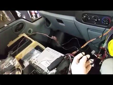 ford transit parrot kit installation guide youtube