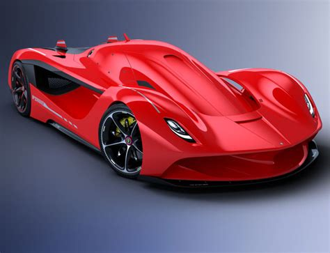 vision gt concept car proposal for ferrari by peter