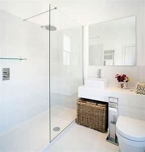 white bathrooms can be interesting too fresh design ideas With salle de bain design avec masque blanc à décorer