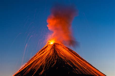es lo peor de una erupcion volcanica