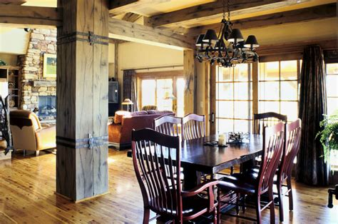 Western Ranch  Traditional  Dining Room  Denver  By Mq