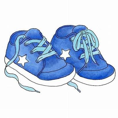 Shoes Clipart Boy Rubber Shoe Drawing Sneakers