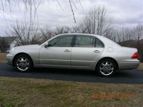 lexus coupe 2003 purchase used silver 2003 lexus ls430 base sedan 4 door 4