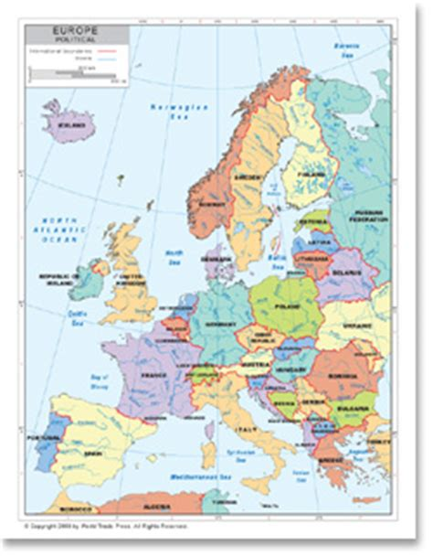 map of modern europe political map of western europe available as poster print or as digital from