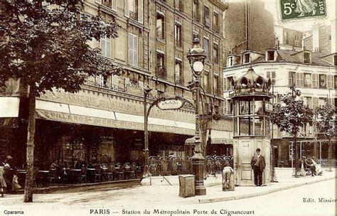 porte de clignancourt xviiie arr cartes postales anciennes sur cparama