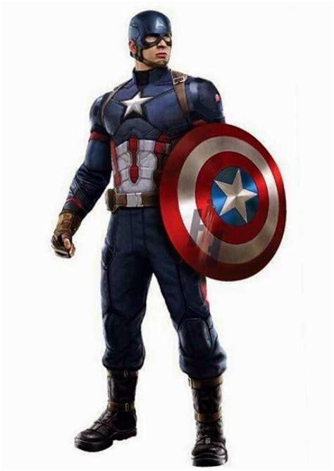 Mais imagens dos novos uniformes do Capitão América e do ...