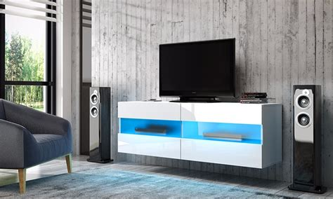 mobile porta tv sospeso brico groupon goods