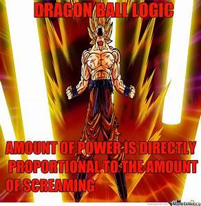 Dbz Logic By Aryaj Meme Center