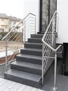 balkone edelstahl treppen für außenbereiche masstreppen trautmann