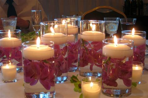 ideas  inexpensive centerpieces  wedding reception
