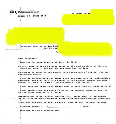 tax abatement letter letter of recommendation