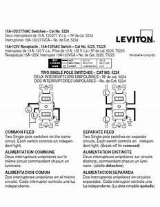 Leviton Two Switch Wiring Diagram