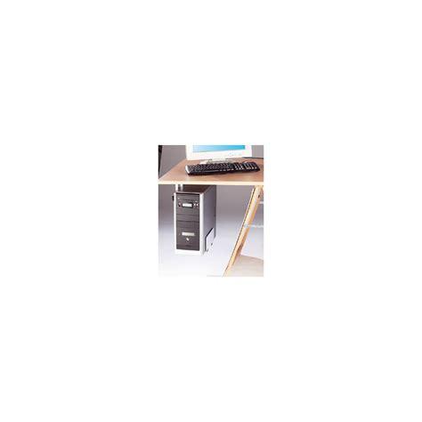 sous pour bureau support en métal pour pc fixe sous bureau