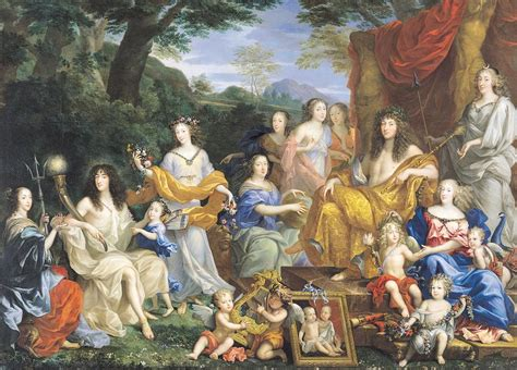 jean nocret family louis xiv the family of louis xiv 1638 1715 1670 oil on canvas for