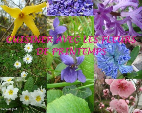 cuisiner les fleurs cuisiner avec les fleurs de printemps album photos un