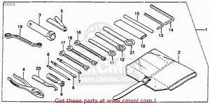 Honda Gl1000 Goldwing 1978 Usa Tools