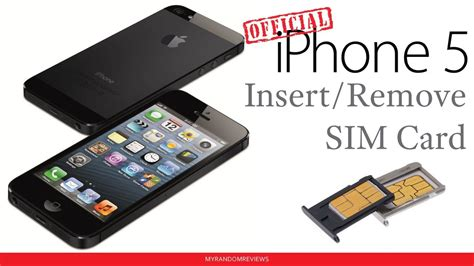 iphone    insert remove  sim card youtube