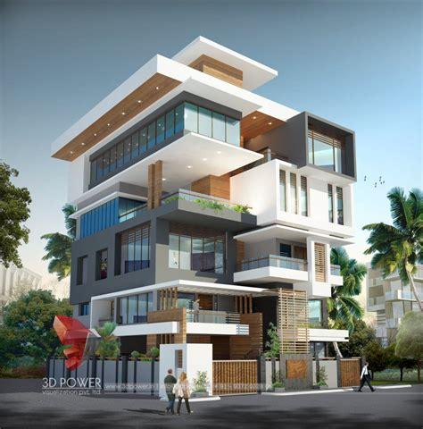 Corporate Building Design  3d Rendering Corporate