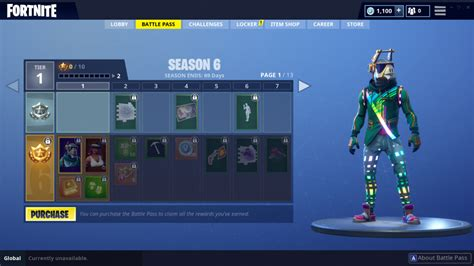 'fortnite' Season 6 Battle Pass Skins From Llamas To