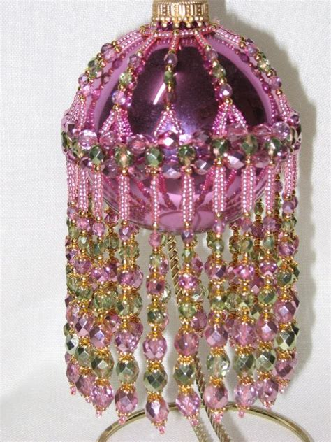 845 best beaded ornaments images on pinterest beaded