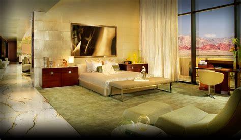 las vegas  bedroom luxury suites  canyon suite red