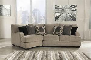 ashley furniture katisha platinum laf cuddler With sectional sofa with left cuddler
