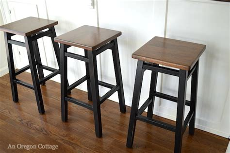 Bar Makeover by Simple Bar Stool Makeover Tutorial An Oregon Cottage