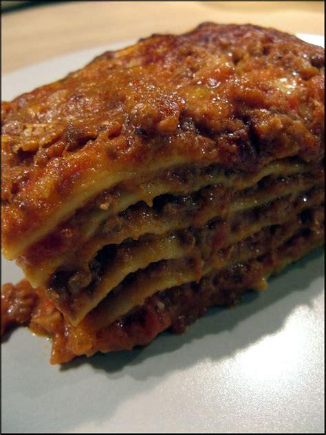recette lasagne maison italienne les quot vraies quot lasagnes 224 la bolognaise a la table de gaelle