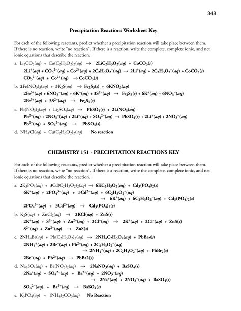 worksheet ionic equations worksheet worksheet