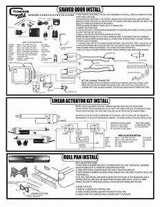 Airbagit Shaved Door  Linear Actuator  Roll Pan User Manual