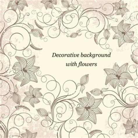 latar belakang hias  bunga vector art vektor bunga
