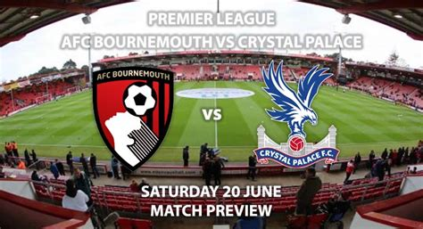 Bournemouth vs Crystal Palace - Match Preview | Betalyst.com