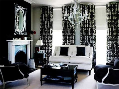 Ideas For Black And White Living Room : Black And Gray Living Room Decorating Ideas Fantastic