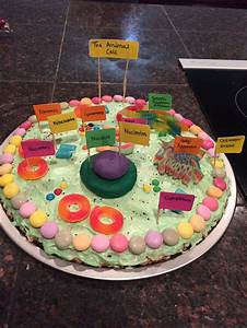 Animal Cell Project  Edible