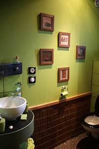 deco wc vert With idee deco bureau maison 12 idee cadeau fait main paris design