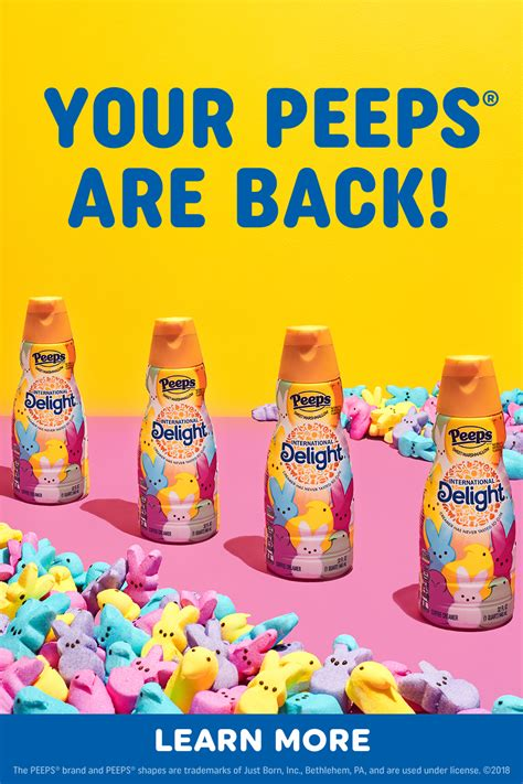While they come in a variety of flavors and in a heavy, creamy format, these coffee creamers work for the lactose intolerant too. PEEPS® Flavored coffee creamer is back for Spring! in 2020   Starbucks drinks recipes, Peeps ...