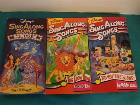 19 best disney sing along songs vhs on sing along songs songs and 101