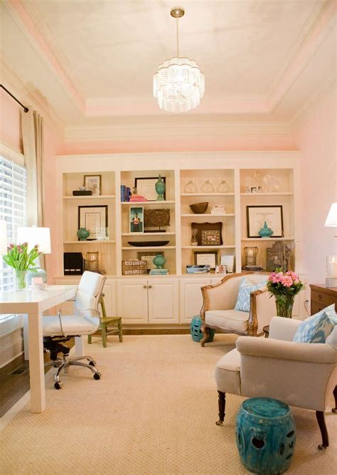 55 Elegant And Exquisite Feminine Home Offices Digsdigs