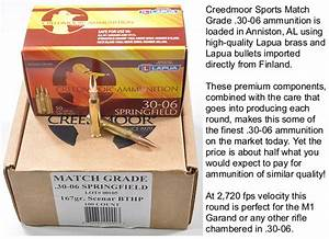 CMP Offers High-Quality .30-06 Ammo from Creedmoor Sports ...