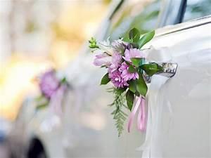 deco voiture mariage retro classique romantique et chic With chambre bébé design avec decoration mariage voiture fleurs