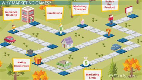 marketing games  students video lesson transcript