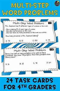 4th Grade Multi Step Word Problems