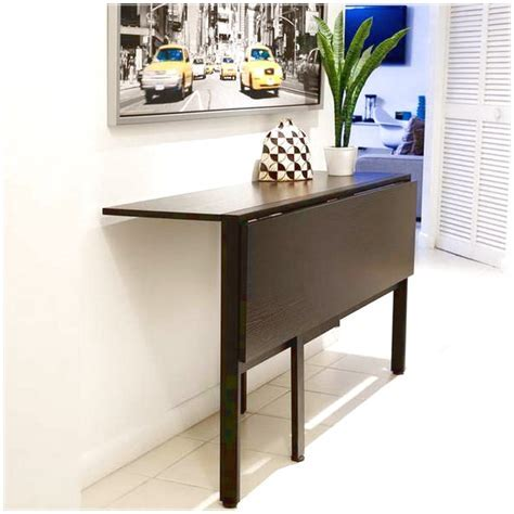Interesting folding tables for small spaces   Interior