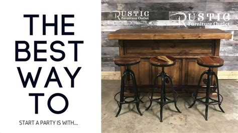 Home Bar Outlet by Rustic Pine Cantina Home Wood Bar Rustic Furniture